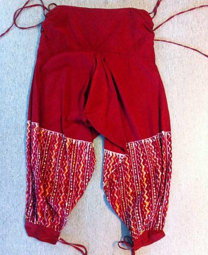 AliBaba-batik-röd