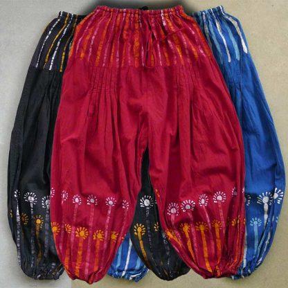 Haremsbyxor batik
