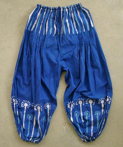 Haremsbyxa-blå