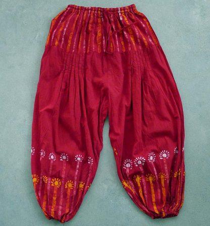 Haremsbyxa-röd