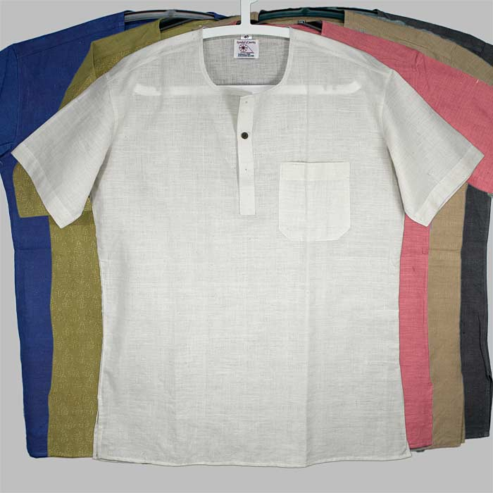 skjorta i ekologisk bomull