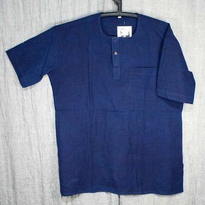 eko skjorta-blå