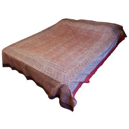 Sängöverkast-röd/brun