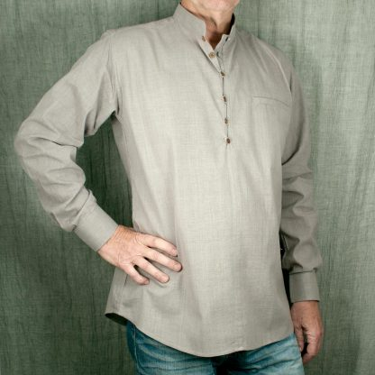 Skjorta med murarkrage